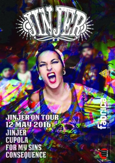Jinjer on Tour