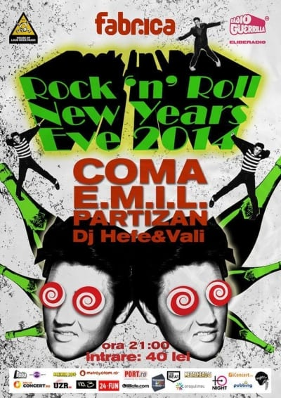 Rock`n`Roll New Years Eve 2014