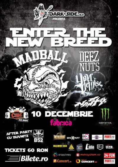 Enter the new breed - Madball - Deez Nuts