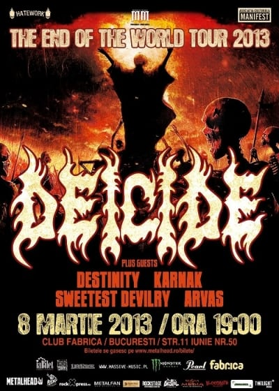 Deicide plus Guests