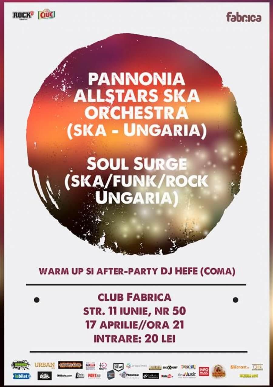 Pannonia AllStars SKA Orchestra | Soul Surge
