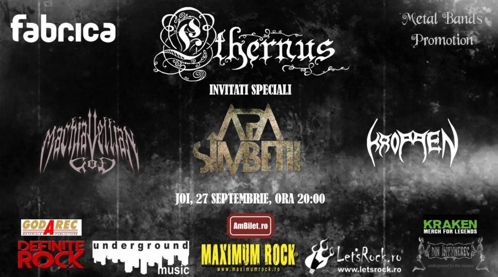 Concert Ethernus - Lansare album