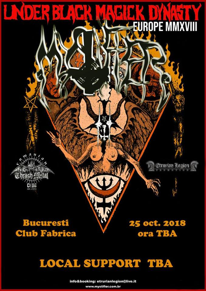 Mystifier live in fabrica!