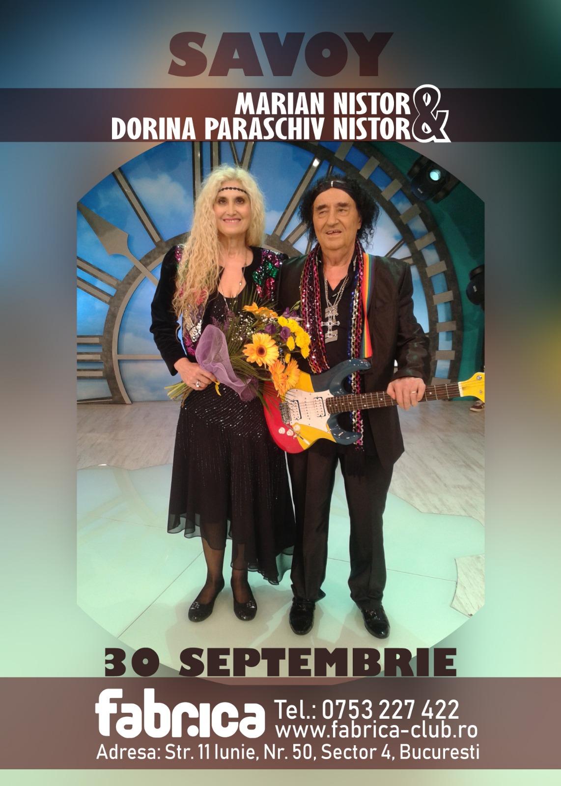 Savoy - Marian Nistor si Dorina Paraschiv Nistor live in Fabrica