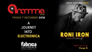 A Journey Into Electronica Roni Iron (GR) at club Fabrica
