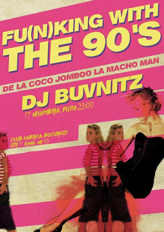Fu(n)king With The 90's Party at club Fabrica