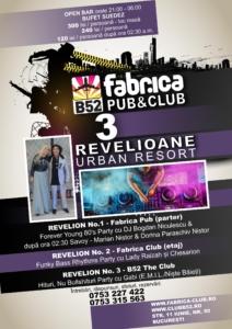 3 Revelioane 2019 - Fabrica Pub, Club & B52