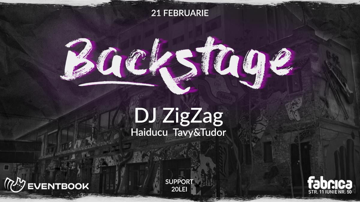 Backstage fabrica 21.02.2019