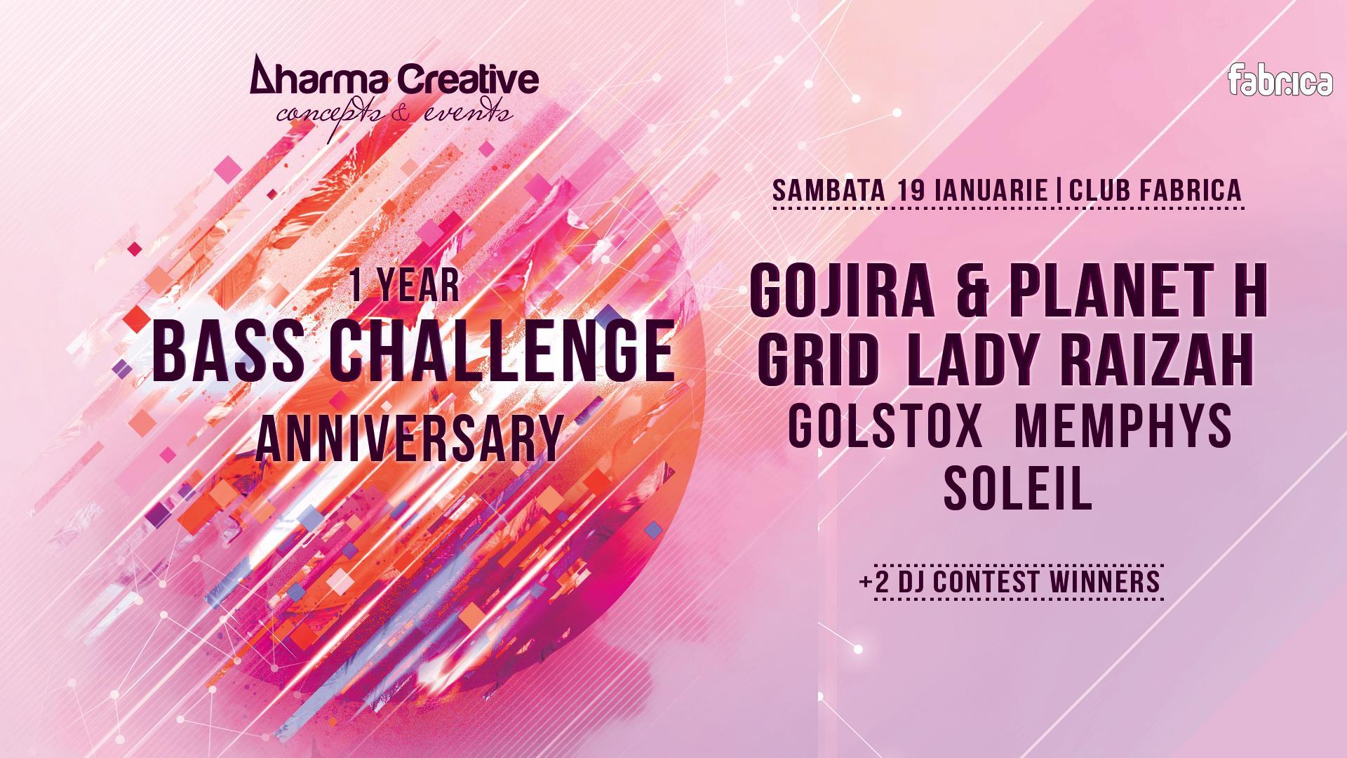 Bass Challenge ● 1 Year Anniversary ● Gojira Planet H ● Grid