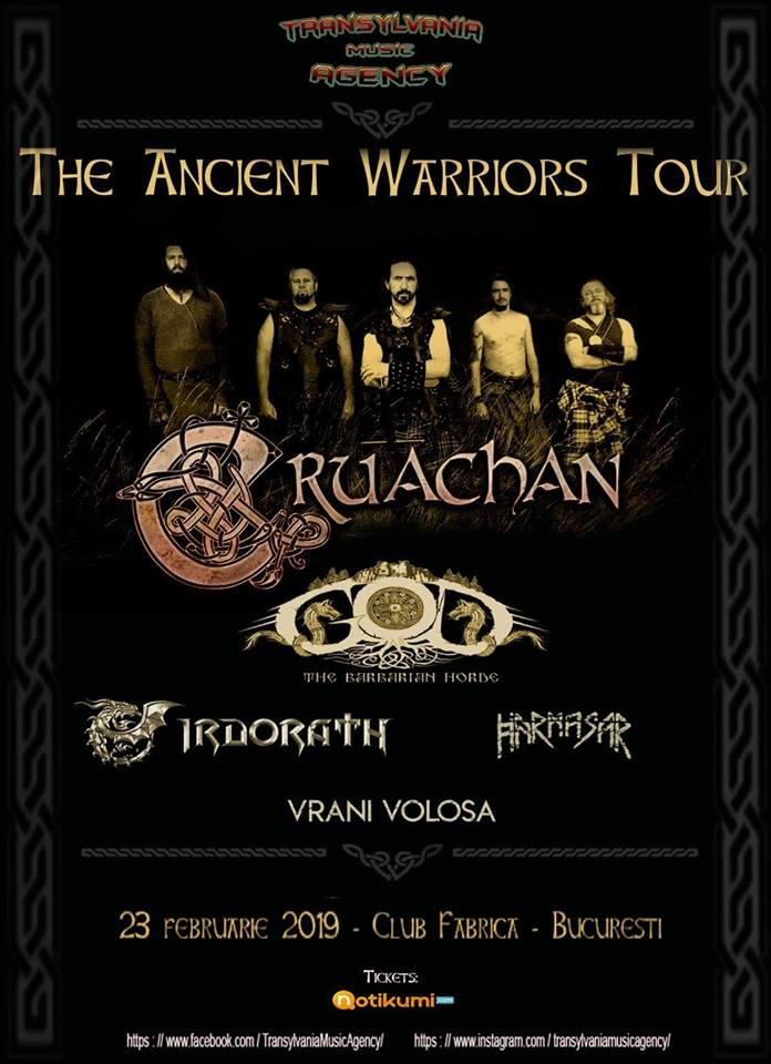 The Ancient Warrior Tour - Bucuresti