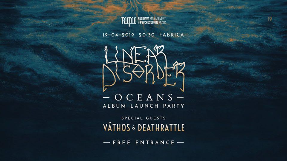Linear Disorder - lansare EP Oceans Vathos, Deathrattle