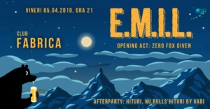 E M I L + Zero Fox Given live @ club Fabrica