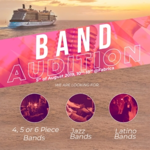 Band Auditions for Cruise Ships - Bucharest