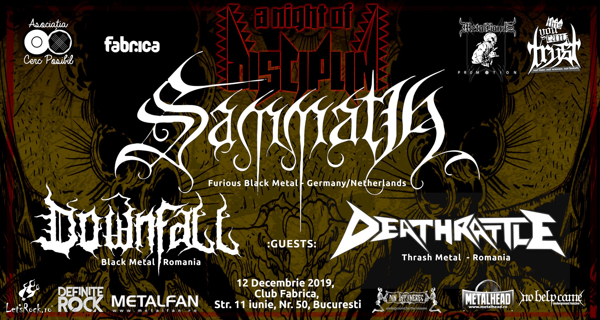 A Night of Disciplin Sammath with guests, at Fabrica