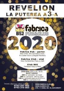 Petrecere revelion 2020 Club Pub Fabrica