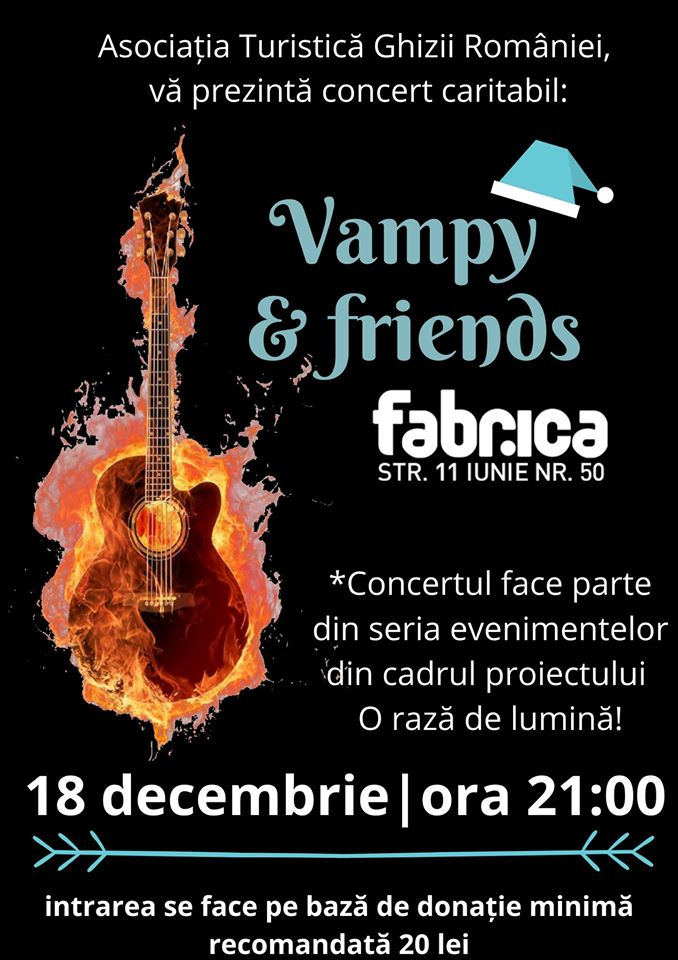 Concert caritabil Vampy&friends