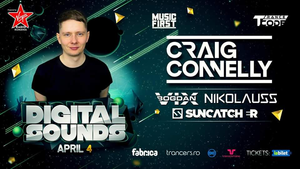Digital Sounds w. Bogdan Vix Suncatcher Craig Connelly Nikolauss