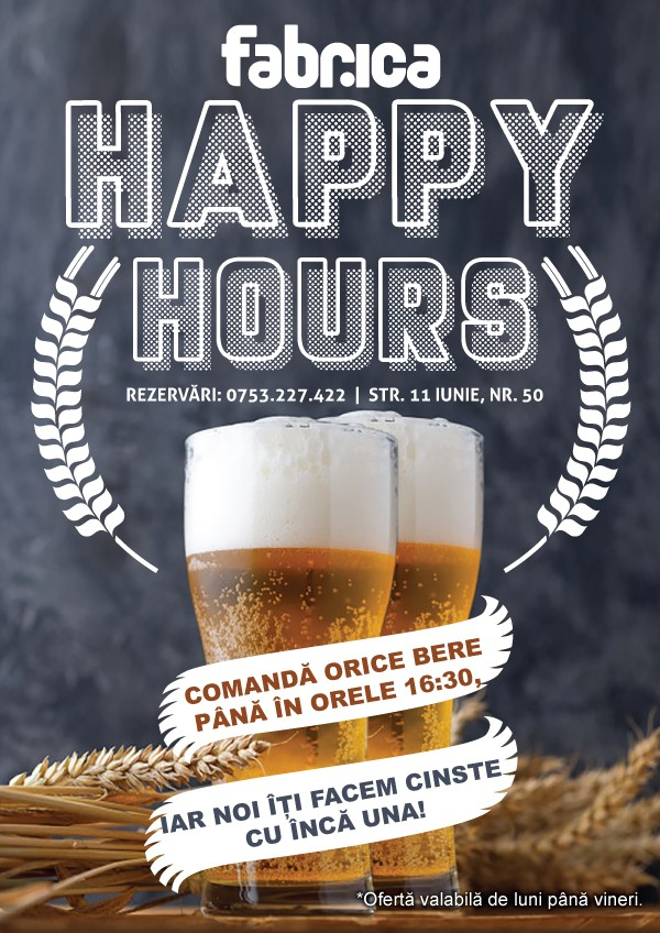 Happy Hours Fabrica