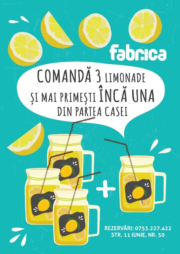 Oferta Limonada Fabrica